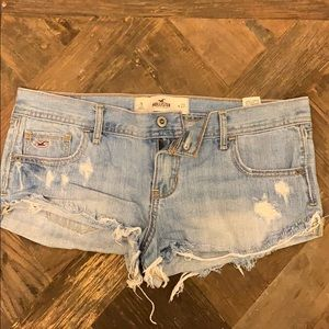 Hollister Denim distressed shorts